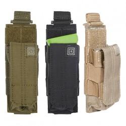 Porte-chargeur Bungee/Cover Pistolet 5.11 tactical - Equipements Militaire poche matériel tactique Quaerius