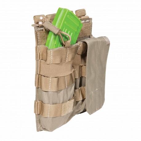 Porte-chargeur Bungee/Cover AK Double 5.11 Tactical - Equipements Militaire Quaerius