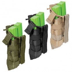Porte-chargeur Bungee/Cover MP5 Double 5.11 Tactical - Equipements Militaire poche porte chargeur équipement de combat Quaerius