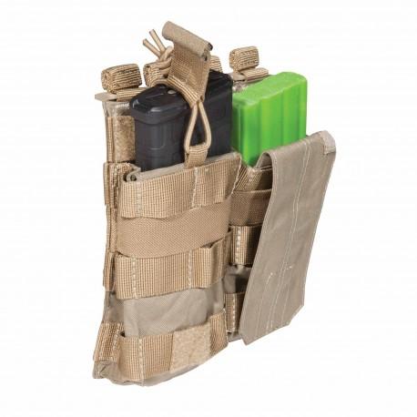 Porte-chargeur Bungee/Cover AR Double 5.11 Tactical - Equipements Militaire poche porte chargeur Quaerius