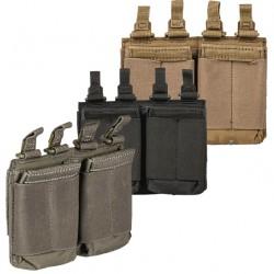 Poche Porte-Chargeur AR Double Flex 5.11 Tactical - Equipement militaire poche porte chargeur tactique Quaerius
