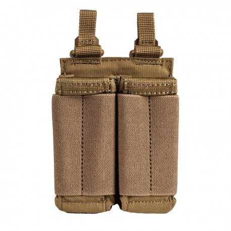 Poche Porte-Chargeur Pistol Double Flex 5.11 Tactical - Equipement militaire poche porte chargeur tactique Quaerius