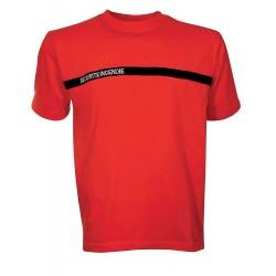 T-shirt Sécurité Incendie rouge Cityguard - Vêtements Sécurité Incendie ssiap cityguard Quaerius
