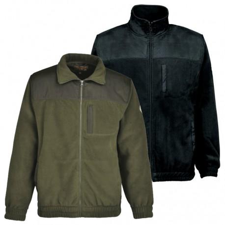 Blouson Polaire Héritage Kaki Cityguard - Vêtement Agent de Sécurité Cityguard Quaerius