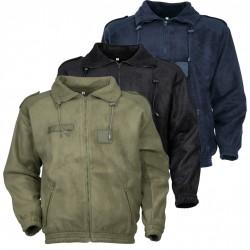 Blouson Polaire Army Kaki Cityguard - Vêtement Agent Sécurité Cityguard Quaerius