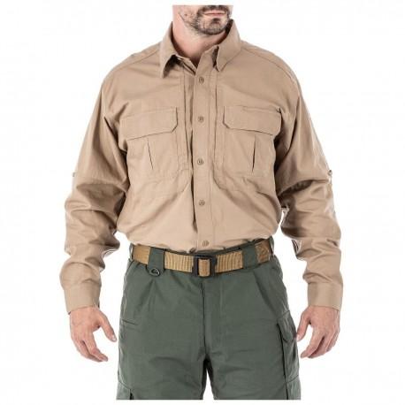 Chemise Tactical manche longues 5.11 tactical - Equipements Militaire chemise tactique Quaerius