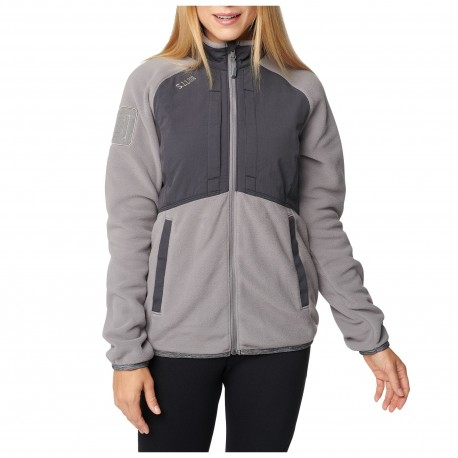 Veste Polaire Apollo Tech Fleece Femme 5.11 Tactical - Equipement militaire outdoor Quaerius