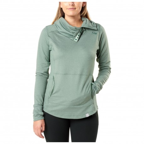 Sweat Aphrodite Cowl Top 5.11 Tactical - Equipement militaire outdoor Quaerius