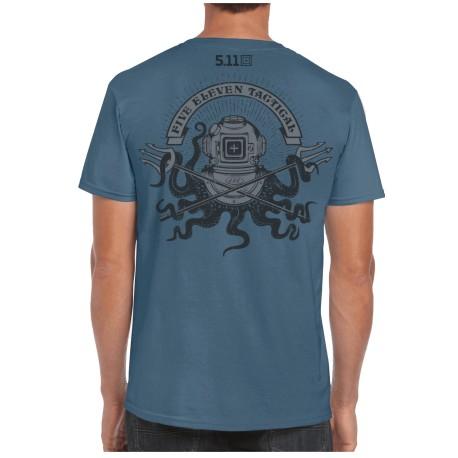 T-Shirt Release The Kraken (Précommande) 5.11 Tactical - Equipement militaire t-shirt militaire humoristique Quaerius