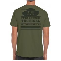 T-Shirt Tank Rolling Panzer (Précommande) 5.11 Tactical - Equipement militaire t-shirt humoristique quaerius