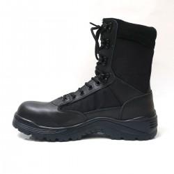 Rangers Coquées Noires Patrol Equipement - Chaussures militaire armée - Rangers Agent Sécurité Quaerius