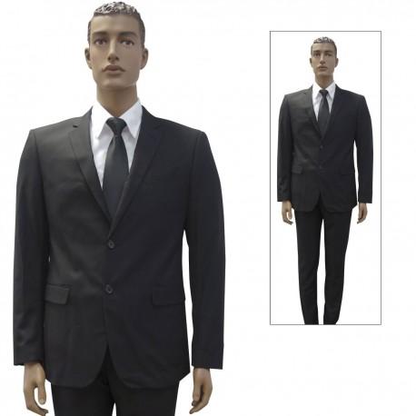 Veste de Costume 2 Boutons Patrol Equipement - Veste Agent de Sécurité - Tenue Sécurité Sureté Quaerius