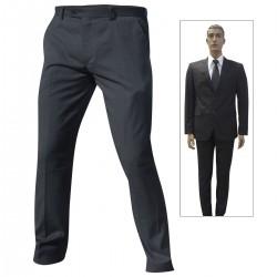 Pantalon de Costume Coupe Ajustée Patrol Equipement - Tenue Agent de Sécurité - Pantalon Agent de Sécurité Quaerius