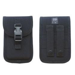 Pochette Téléphone Noir Patrol Equipement - Tenue agent de sécurité Quaerius