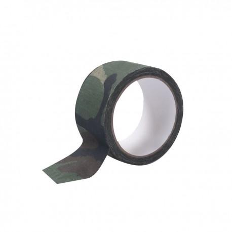 Ruban Adhésif Tissu Camouflage CE DCA France - Equipement militaire Bivouac Quaerius