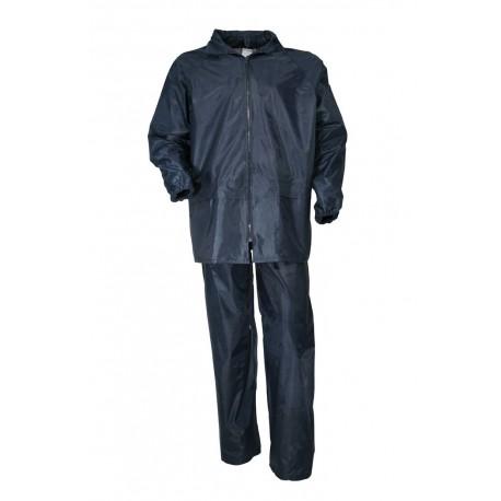 Tenue de Pluie Marine Enduit Cityguard - Vêtement Agent de Sécurité Cityguard Quaerius