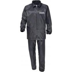 Tenue de Pluie Securité Noir Cityguard - Vêtement Agent de Sécurité Cityguard Quaerius