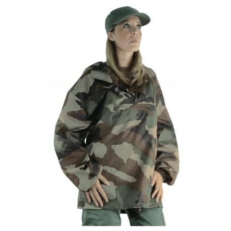 Coupe-Vent Militaire Camouflage CE Ripstop DCA FRANCE - Equipement militaire coupe vent armée de terre Quaerius
