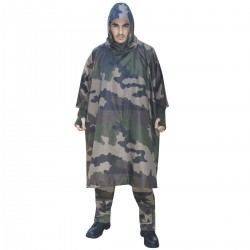 Poncho US Camouflage CE Ripstop