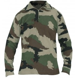 Chemise F1 Polaire Camouflage CE