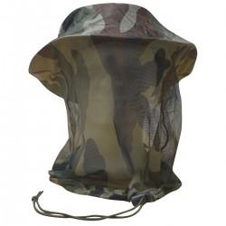 Chapeau Jungle avec moustiquaire DCA FRANCE - Equipement militaire Habillement Quaerius
