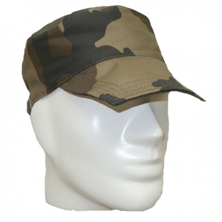 Casquette F1 Camouflage CE DCA France - Tenue militaire casquette camouflage Quaerius