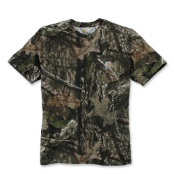 T-shirt Outdoor Camouflage Carhartt - Equipement militaire chasse Quaerius