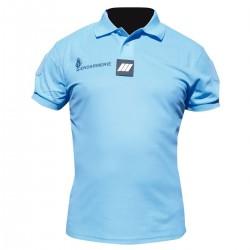 Polo Gendarmerie Cooldry Respirant Bleu