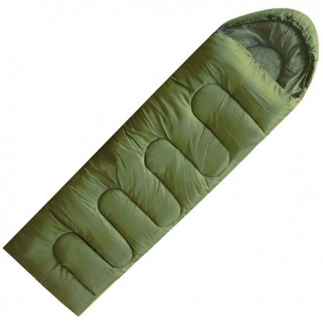 Sac de Couchage Confort Vert kaki armée Opex - tenue militaire sac de couchage armée de terre française Quaerius