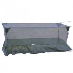 Moustiquaire Lit de Camp 1 Place DCA France - Tenue militaire équipement bivouac Quaerius
