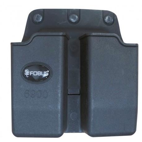 Double Porte Chargeur pour Glock 17/19 Fobus - equipement arme militaire et police Quaerius