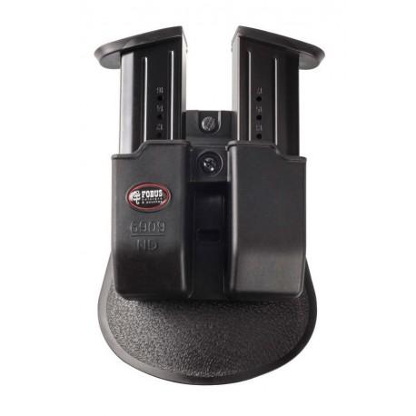 Double Porte Chargeur pour 9mm Fobus - equipement arme militaire et police Quaerius