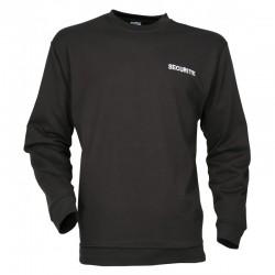 Sweat Shirt Sécurité Noir Cityguard - Vêtement Agent Sécurité Cityguard Quaerius
