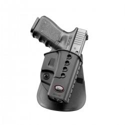 Holster Rigide pour Glock à Rétention Passive - équipement police rangement armes Quaerius