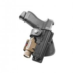 Holster Rigide avec Charnière pour Glock - équipement police rangement armes Quaerius