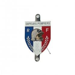 Ecusson Ventouse en Métal Sapeurs Pompiers - plaque accessoires pompiers Quaerius