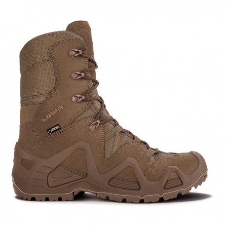Chaussure Zephyr GTX HI TF Coyote OP - Chaussure Militaire LOWA - Equipements Militaire Quaerius