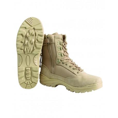 Chaussures Tactical 1 Zip - Bottes Tactiques Militaires Marche Quaerius