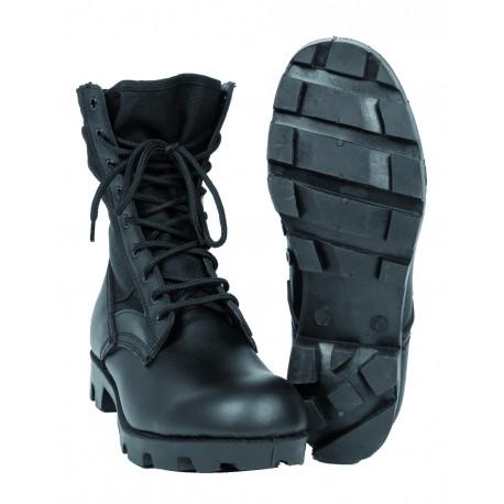 Bottes US Panama Jungle - Chaussures Militaire Cuir Quaerius