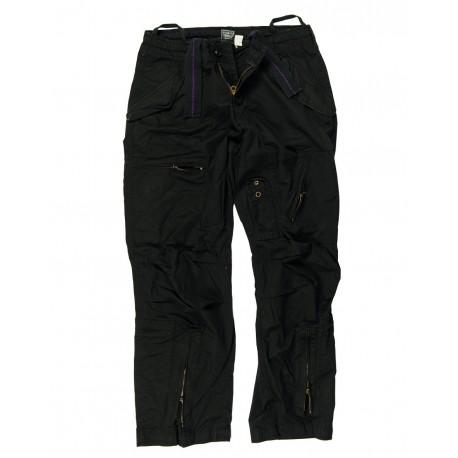 Pantalon Pilote Délavé Avec Poches Obliques - Pantalons Cargo / Terrain Quaerius