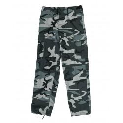 Pantalon US Type BDU Ranger Camouflage - Pantalons Bas de treillis Quaerius