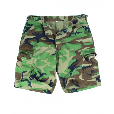 Bermuda US Ripstop Délavé Camouflage - Bermudas / Shorts Quaerius