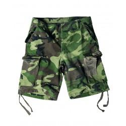 Short Délavé Para Camouflage - Bermudas / Shorts Quaerius