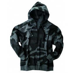 Sweat-Shirt Avec Capuchon Camouflage - Sweat-shirts Quaerius