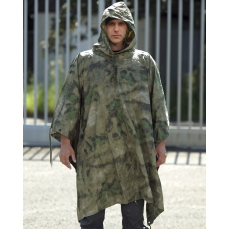Poncho Ripstop Camouflage - Ponchos Quaerius