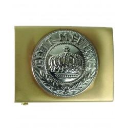 Boucle de Ceinturon Allemand Prusse - Boucle Emblème Militaire de Ceinture Quaerius