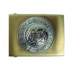 Boucle de Ceinturon Allemand WUR - Boucle de Ceinture avec Emblème Armée Quaerius