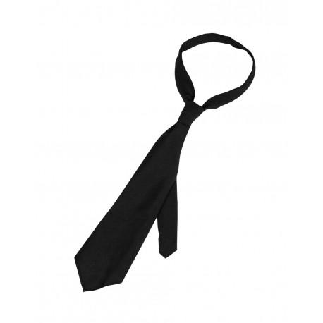 Cravate Noire Sécurité - Cravate Tour de Cou Costume Quaerius