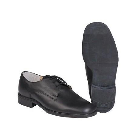 Chaussures Basses Noires en Cuir - Chaussures de Ville Sécurité Professionnel Quaerius
