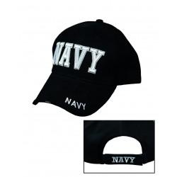 Casquette Baseball Navy - Casquette Navy Noire Quaerius
